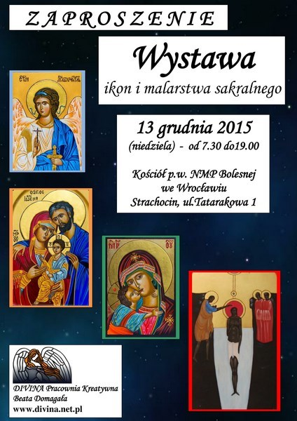 Exhibition of icons and sacred paintings